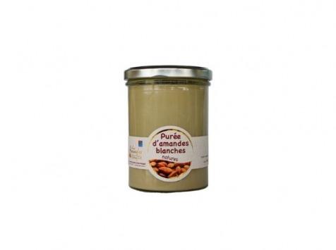 Les amandes et olives du Mont Bouquet - Purée D'amande Blanche Et Nature 400g