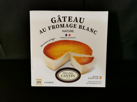 La Fromagerie Marie-Anne Cantin - Gâteau au fromage blanc