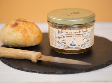 Ferme du Bois de Boulle - Pâté de lapin