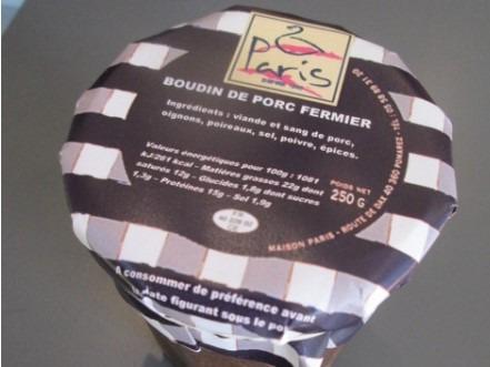 Maison Paris - Boudin De Porc Fermier