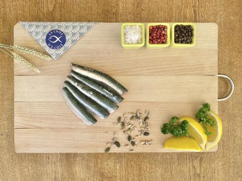 La Criée d'à Côté - Filets de Sardines - Lot de 1 kg