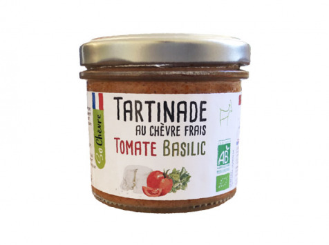Fromagerie Seigneuret - Tartinade Au Chèvre Frais - Tomate Et Basilic 90g