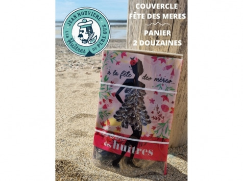 Les Huîtres du Père Gus - Fête des mères  - 2 douzaines - La Coutainvillaise - En Numéro 3 (moyennes)