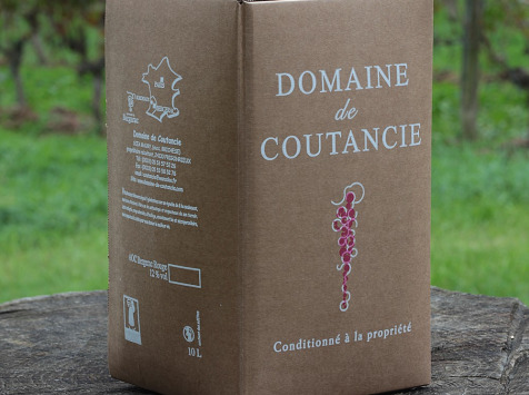 Nature viande - Domaine de la Coutancie - Domaine de coutancie vin rouge x1 bib de 10l