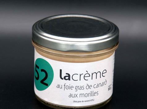Secrets de Famille - Crème de Foie Gras de Canard aux Morilles