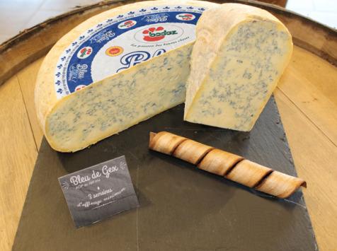 Constant Fromages & Sélections - Bleu De Gex Badoz Haut Jura Aop, Part De 1kg Environ