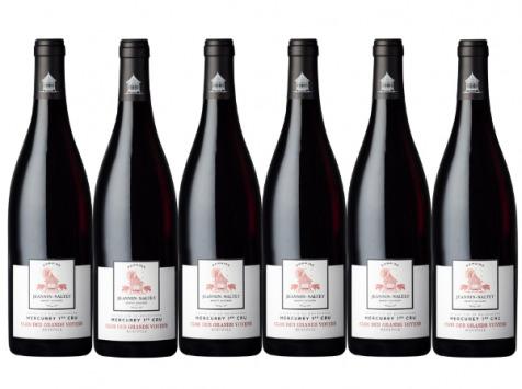 Domaine Jeannin-Naltet - Mercurey Premier Cru Clos Des Grands Voyens 2019 - 6 bouteilles