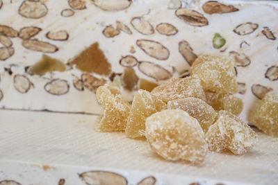 Nougats Laurmar - Nougat  blanc tendre au gingembre confit