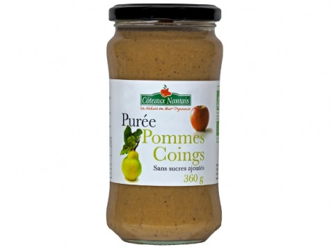 Les Côteaux Nantais - Purée Pommes Coings 360g