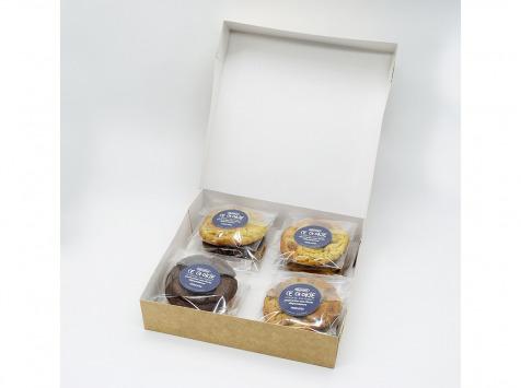 Pierre & Tim Cookies - Boîte de 12 Cookies Fruités
