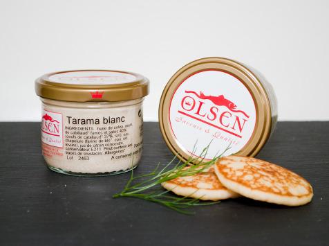 Olsen - Tarama blanc 40% Oeufs de cabillaud, verrine 90g