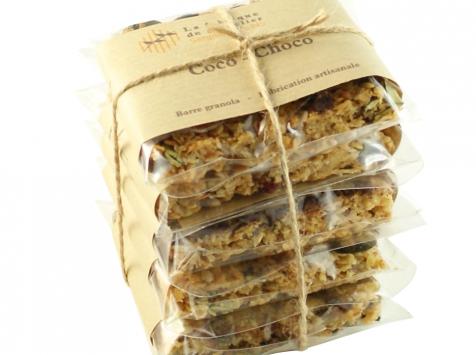 La fabrique du granolier - Pack 5 Barres Coco-choco