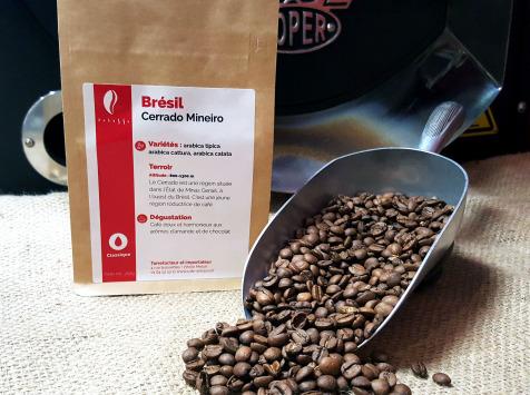 Brûlerie de Melun-Maison Anbassa - Café Cerrado Mineiro-brésil-mouture Moyenne