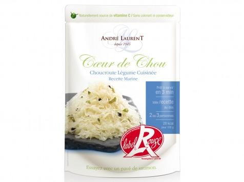 """Choucroute André Laurent - Choucroute Légume """"coeur De Chou"""" Recette Marine"""