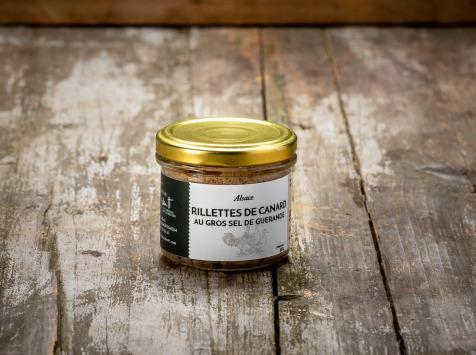 La Ferme Schmitt - Rillettes de Canard au Gros Sel de Guérande 85 g