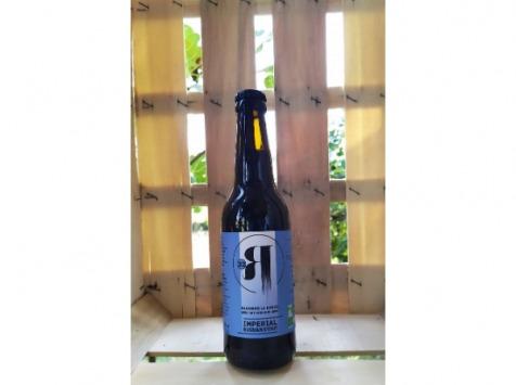 La Roque  Brasserie Bio, paysanne et familiale - Bière Imperial Russian Stout 6x75cl - Brasserie Fermière Bio