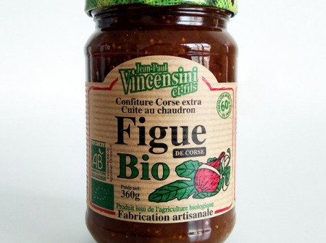 Jean-Paul Vincensini et Fils - Confiture de Figue Bio