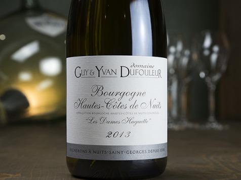 Dyvin - Domaine Guy & Yvan Dufouleur - Hautes-Côtes de Nuits Blanc Les Dames Huguette - Lot De 3 Bouteilles