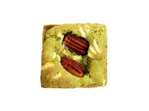 Pierre & Tim Cookies - Brookie The Matcha Chocolat Blanc noix De Pécan