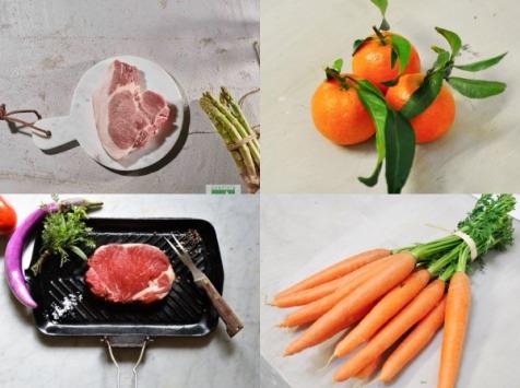 BEAUGRAIN, les viandes bien élevées - Les Légumes Anciens et Grillades - 2 Repas pour 2 personnes