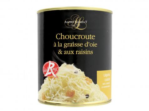 Choucroute André Laurent - Choucroute À La Graisse D'oie Et Aux Raisins