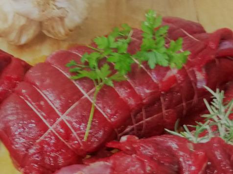 Ferme du caroire - Rôti de Rumsteck de Bœuf Jersiais 700g