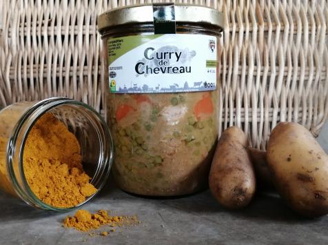 Ferme du caroire - Curry De Chevreau 800