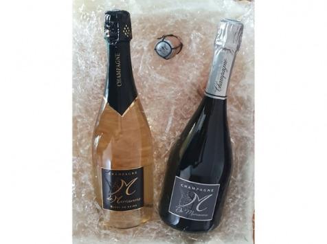 Champagne M de Marianne - Champagne en Duo : M De Marianne & M Blanc De Noirs
