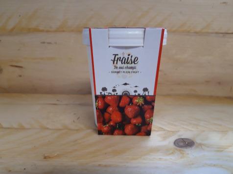 La Ferme du Logis - Sorbet Plein Fruit Fraise