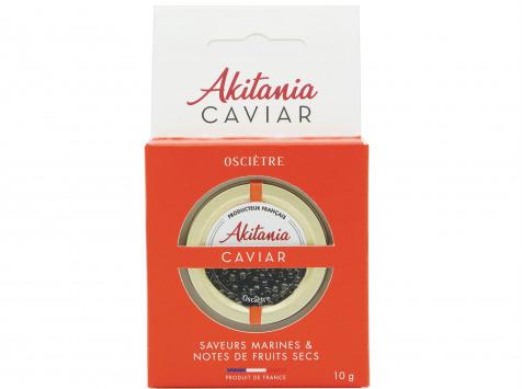 Akitania, Caviar d'Aquitaine - Caviar D'aquitaine Akitania Oscietre Coffret 10g