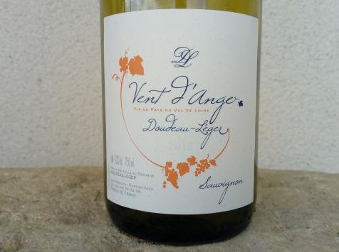 Sancerre Doudeau-Leger - Vent d'Ange - Vin de Pays du Val de Loire Blanc IGP 2019 - 6 Bouteilles