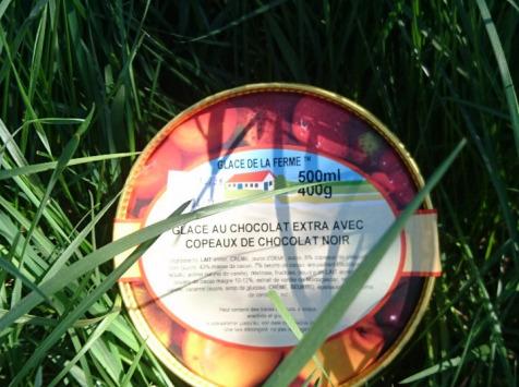 Les Glaces de la Promesse - Glace Au Chocolat Extra Avec Copeaux De Chocolat Noir