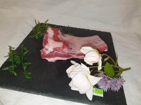 La Ferme du Montet - [SURGELE] Travers de Porc Noir Gascon BIO - 500 g