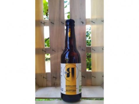 La Roque  Brasserie Bio, paysanne et familiale - Bière Scottish 6x75cl - Brasserie Fermière Bio