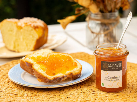La Maison du Citron - Confiture d'Orange amère - 220 gr