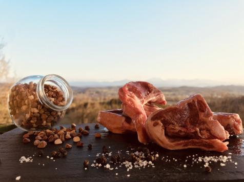 Du bio dans l'assiette - [Précommande] Carré D'agneau Fermier Bio 1kg