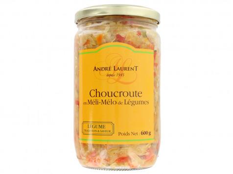 Choucroute André Laurent - Choucroute En Méli-mélo De Légumes