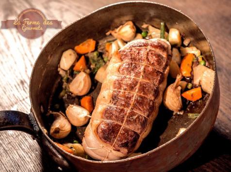 La Ferme Des Gourmets - Rosbeef De Génisse Limousine - Précommande