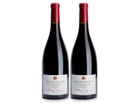 Domaine Tupinier Philippe - Bourgogne Côte D'Auxerre Rouge 2016  - 2 Bouteilles De 75 Cl
