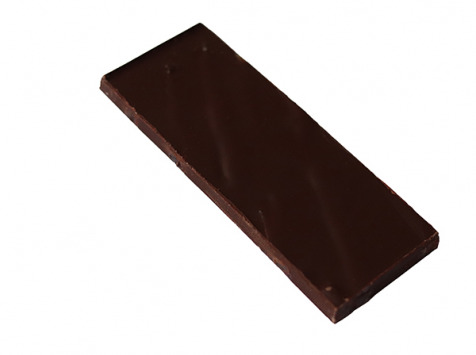 Maison Le Roux - Tablette Chocolat Noir Écorces d'orange 62% Cacao