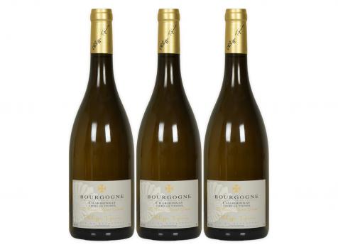 Domaine Tupinier Philippe - Bourgogne Chardonnay ''Vieilles Vignes'' 3 Bouteilles 75cl