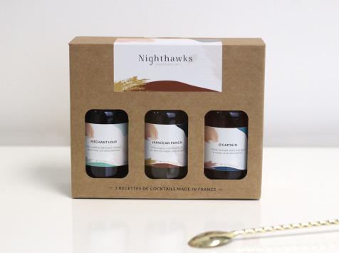 Nighthawks - Coffret Dégustation 3 Recettes (3x20 Cl)