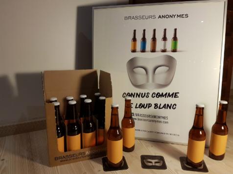 Brasseurs Anonymes - Bière Blonde Aux Notes D'agrumes Et De Malt - 12 Bouteilles