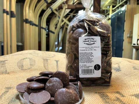 Moulins de Versailles - Chocopastilles Chocolat Au Lait 38% - 500g