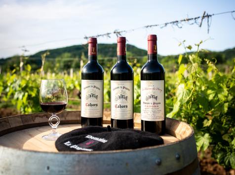 Domaine la Paganie - Coffret de 3 Bouteilles de Vins Rouges - AOC Cahors - 2016, 2017 Et 2018 Réserve Henry