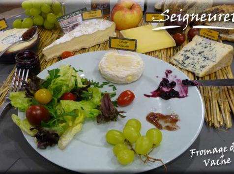 Fromagerie Seigneuret - Plateau De Fromages De Vache - 8 Personnes