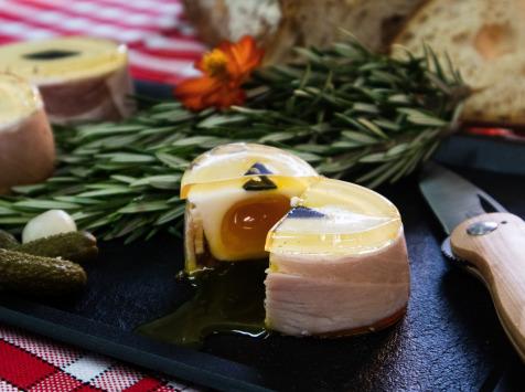 Maison Geret - Aspic œuf mollet jambon - 80 g