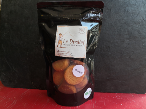 Pyrenées'cakes - Gâteaux à la broche BIO - Drollets Vanille