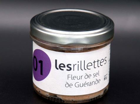 Secrets de Famille - Rillettes à la fleur de sel de Guérande