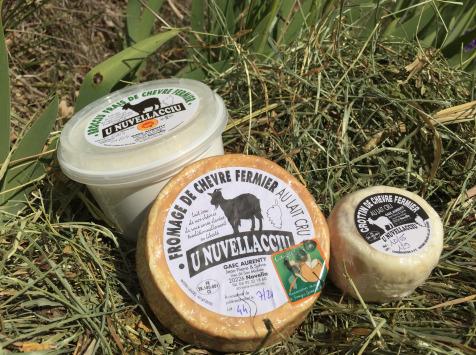 Depuis des Lustres - Comptoir Corse - Plateau Apéro de 3 Fromages de Chèvre U Nuvellacciu